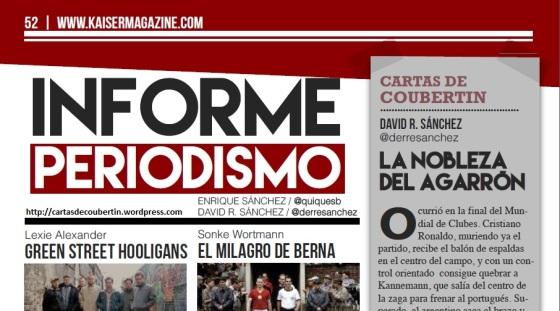 Informe Periodismo en Kaiser Magazine